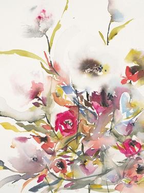 Watercolor Field 2 by Karin Johannesson