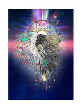 Cosmic Lion Butterfly by Karin Roberts