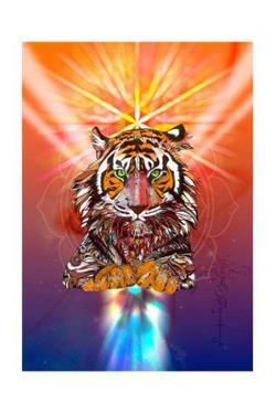 Cosmic Tiger by Karin Roberts