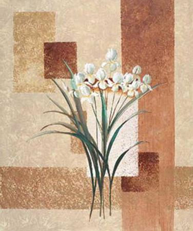 Delicate Flowers II by Karin Valk