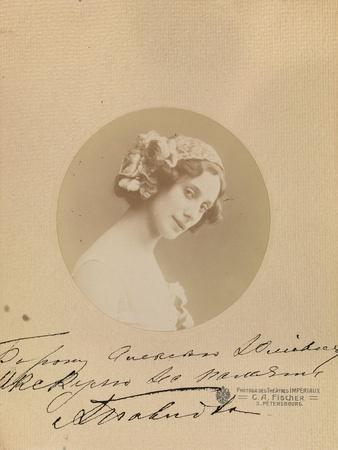 Ballet Dancer Anna Pavlova, 1912