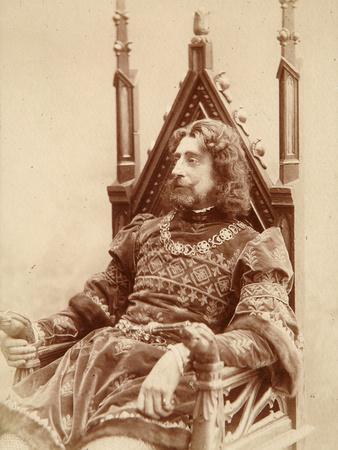 Grand Duke Constantine Constantinovich of Russia as Hamlet, 1900