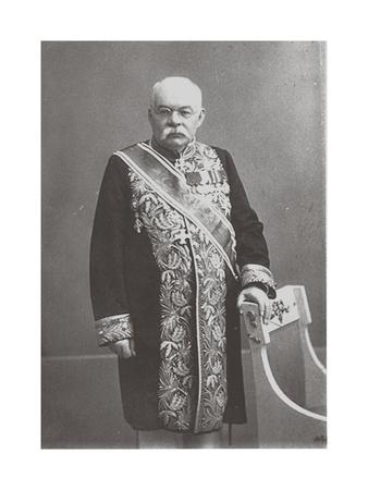 Portrait of the Historian and Archeologist Ivan Vladimirovich Tsvetaev (1847-191), 1913
