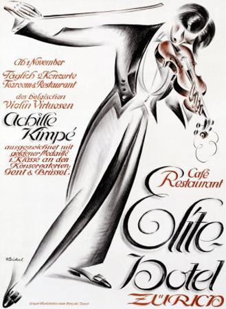 Elite Hotel by Karl Bickel