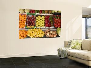 Fruit and Vegetables for Sale at Shop by Karl Blackwell