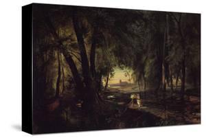 Forest Path near Spandau by Karl Blechen
