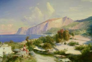 The Marina Grande, Capri, circa 1829 by Karl Blechen