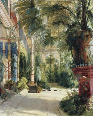 The Palm House by Karl Blechen