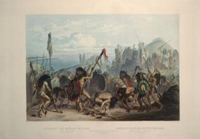 Bison Dance of the Mandan Indians by Karl Bodmer