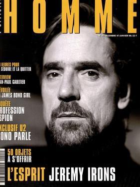 L'Optimum, December 1997-January 1998 - Jeremy Irons by Karl Dickenson
