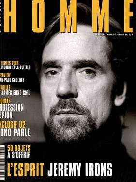 L'Optimum, December 1997-January 1998 - Jeremy Irons by Karl Dickenson