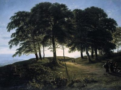 Morning, 1813 by Karl Friedrich Schinkel