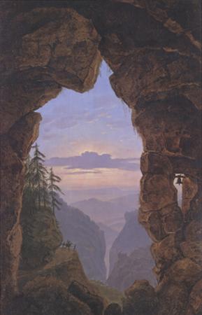 The Gate in the Rocks by Karl Friedrich Schinkel