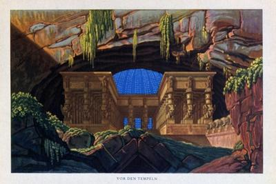 The Temple of Isis and Osiris from the Magic Flute, 1816 by Karl Friedrich Schinkel