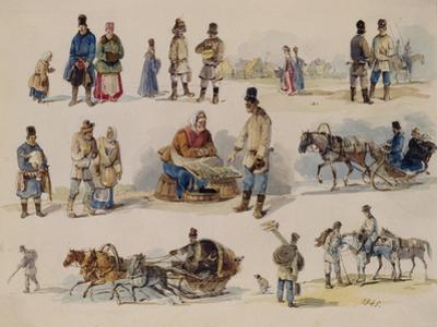 Folk Types of Russia, 1845