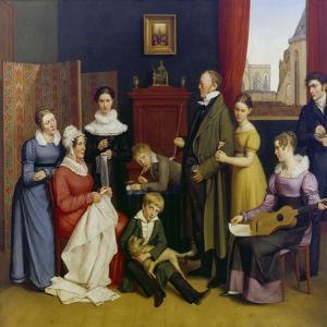 Die Familie Begas by Karl Joseph Begas