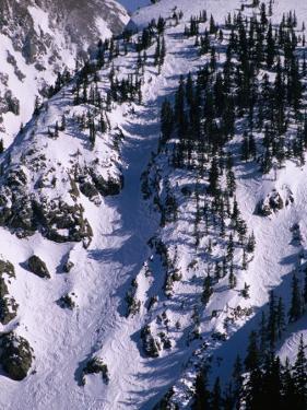 Aerial View of Taos Ski Valley, Taos, New Mexico, USA by Karl Lehmann