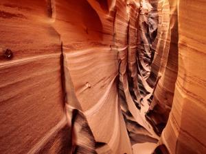 Zebra Slot Canyon, Formed in Jurassic Age Navajo Sandstone by Karl Lehmann
