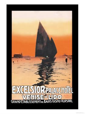 Excelsior Palace Hotel by Karl Michel