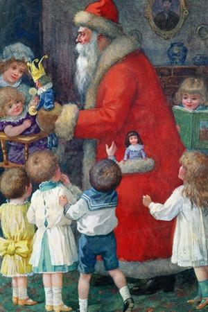 Father Christmas with Children