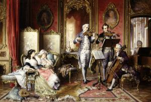 Musical Interlude by Karl Schweninger