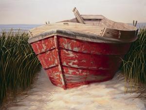 Red Boat by Karl Soderlund