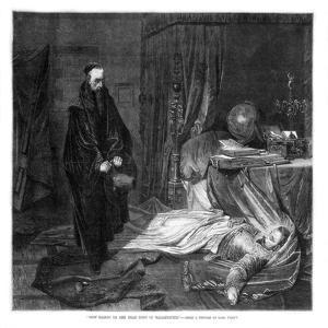 Seni Gazing on the Body of Wallenstein, 1864 by Karl Theodor von Piloty