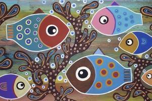 6 Fish by Karla Gerard