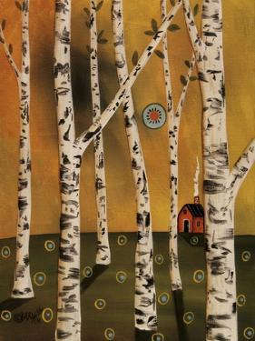 Birch Grove 1 by Karla Gerard
