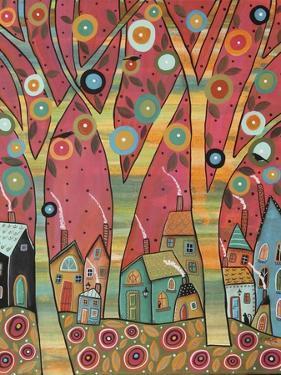 Chirpy Village 1 by Karla Gerard