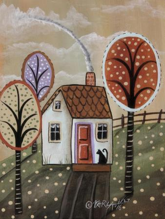 Cottage Cat 2 by Karla Gerard