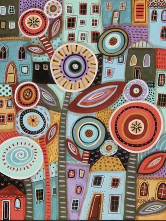 Flower Town 1 by Karla Gerard