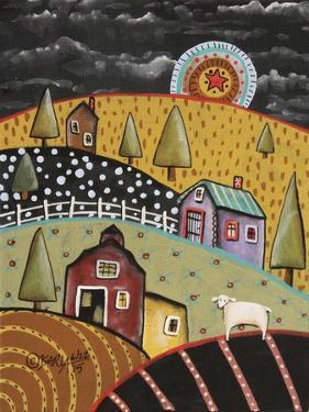 Night Barn 1 by Karla Gerard
