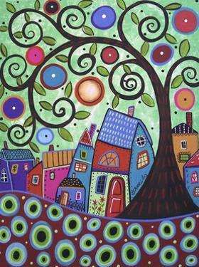 Small Village 1 by Karla Gerard