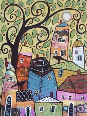 Small Village 2 by Karla Gerard