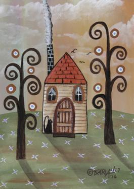 Tan House 1 by Karla Gerard