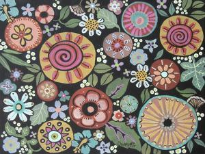 Vintage Style Floral 1 by Karla Gerard