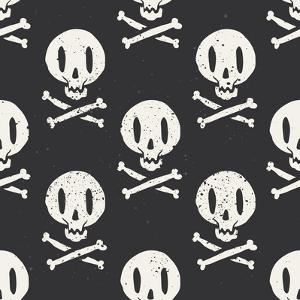 Seamless Cartridge Skull by Karma3