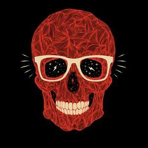 Vector Funny, Candy Skull by karnoff