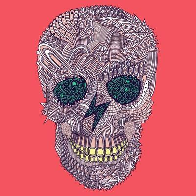 Vector Funny, Candy Skull