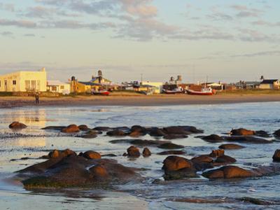 Beach at sunrise, Cabo Polonio, Rocha Department, Uruguay, South America by Karol Kozlowski