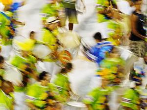 Brazil, State of Rio de Janeiro, City of Rio de Janeiro, Carnival Parade at The Sambadrome Marques  by Karol Kozlowski