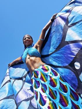 Brazil, State of Rio de Janeiro, City of Rio de Janeiro, Gloria, Bloco Orquestra Voadora Carnival P by Karol Kozlowski