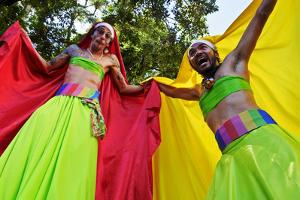 Brazil, State of Rio de Janeiro, City of Rio de Janeiro, Santa Teresa, Traditional Carnival Parade  by Karol Kozlowski
