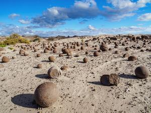 Cancha de bochas (Bowls Pitch) Formation, Ischigualasto Provincial Park, UNESCO World Heritage Site by Karol Kozlowski