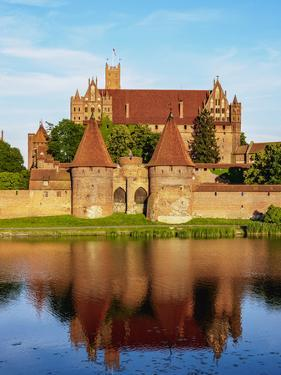 Castle of the Teutonic Order in Malbork, Pomeranian Voivodeship, Poland by Karol Kozlowski