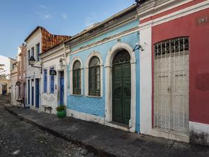 Colourful streets of Carmo, Historic Centre, UNESCO World Heritage Site, Salvador, State of Bahia,  by Karol Kozlowski