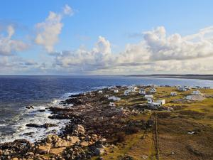 Elevated view of the Cabo Polonio, Rocha Department, Uruguay, South America by Karol Kozlowski