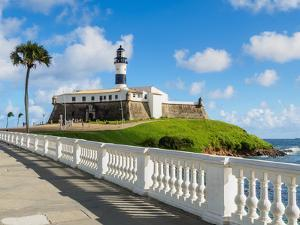 Farol da Barra, lighthouse, Salvador, State of Bahia, Brazil, South America by Karol Kozlowski