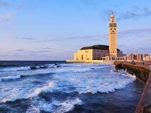 Hassan Ii Mosque in Casablanca by Karol Kozlowski